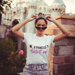 Princess Diaries inspired tee